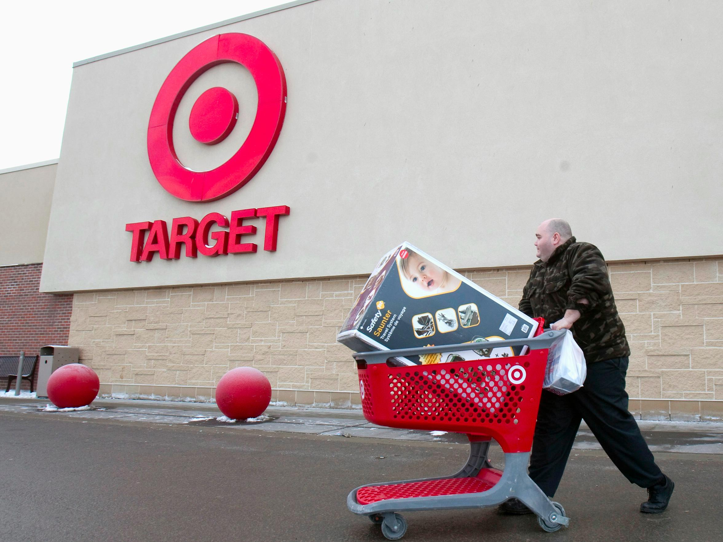 Target's online sales broke a record on Thanksgiving — here are the top 3 items sold
