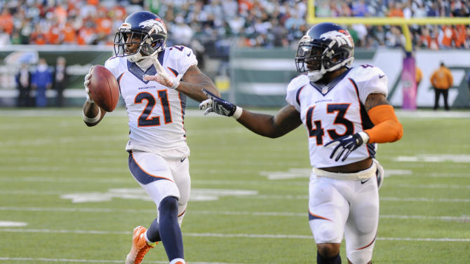 Manning throws for 3 TDs, Broncos beat Jets 31-17