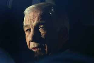 Jerry Sandusky: excused abuse as horseplay. (Mark Wilson/Getty Images)