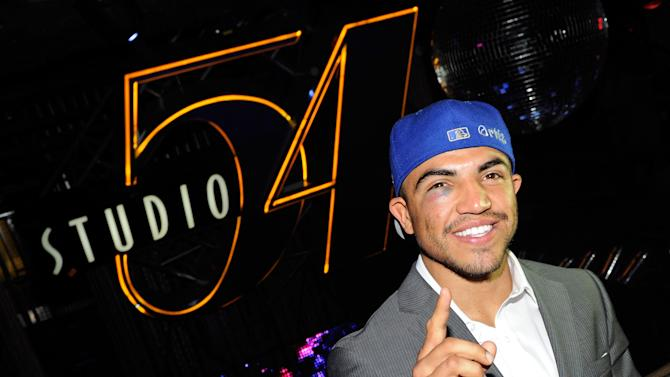 Victor Ortiz Appears At Studio 54