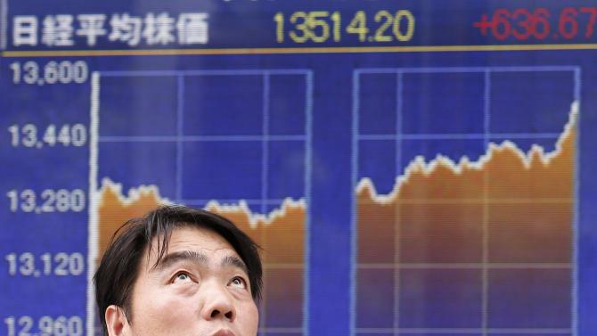 Asian stocks slide led by Tokyo on worries