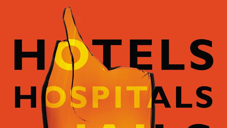 "This book cover image released by Twelve shows ""Hotels, Hospitals and Jails,"" by Anthony Swofford. (AP Photo/Twelve)"