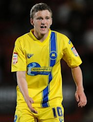 Ex-Torquay midfielder Eunan O'Kane, pictured, hopes to establish a place in Eddie Howe's starting line-up
