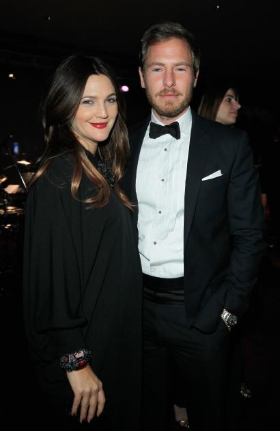 Drew Barrymore and husband Will Kopelman are seen at Art + Film Gala Honoring Ed Ruscha and Stanley Kubrick presented by Gucci at LACMA in Los Angeles on October 27, 2012  -- Getty Images