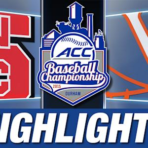 NC State vs Virginia | 2015 ACC Baseball Championship Highlights