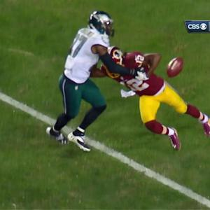Philadelphia Eagles safety Malcolm Jenkins recovers fumble