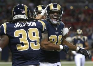 Bradford on game, Rams beat Chiefs 31-17