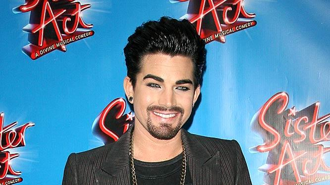 Adam Lambert Sister Act Opng Night