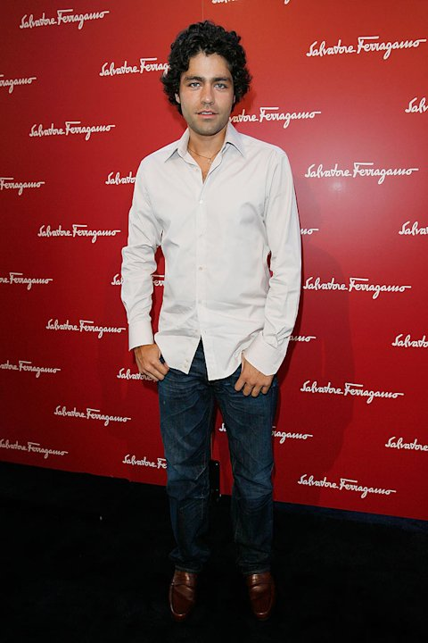 Adrian Grenier attend the Ferragamo event with Debi Mazar and Adrian Grenier to benefit the L'Aquila earthquake victims at the Ferragamo Boutique on June 2, 2009 in Beverly Hills, California.