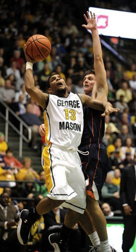 Allen helps George Mason upend Virginia 63-59