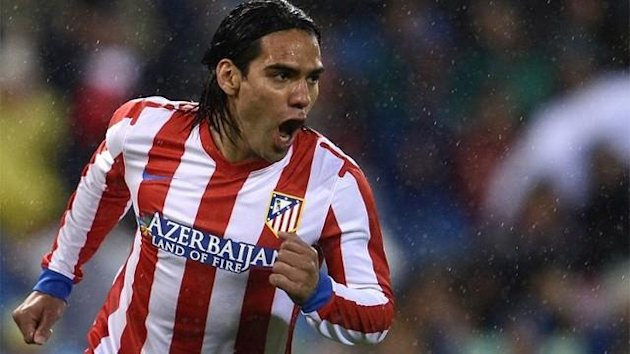 Radamel Falcao of Atletico Madrid (AFP)