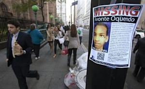 A poster for Avonte Oquendo, a missing 14-year-old autistic child, is seen in downtown New York
