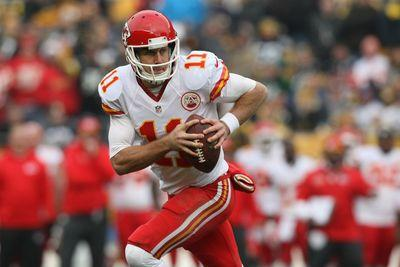 Chiefs QB Alex Smith out with lacerated spleen