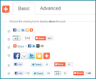 How To Increase Your Social Reach: Social Sharing And Following image AddThis Plugin Options WordPress