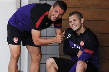 Walcott: Wilshere is 'buzzing' after return to Arsenal training