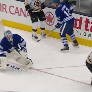 Jonathan Bernier keeps Caron off the board