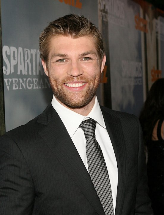 Liam McIntyre attends the Starz Original Series &quot;Spartacus: Vengeance&quot; Premiere Event at ArcLight Cinemas Cinerama Dome on January 18, 2012 in Hollywood, California. 