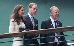 Wimbledon 2012: Duke and Duchess of Cambridge in royal box for Andy Murray quarter final