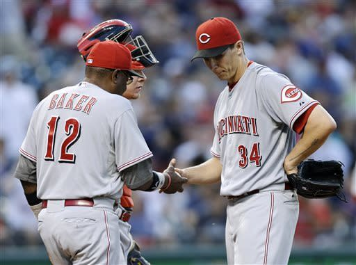 Kazmir, big 4th inning lead Indians past Reds 7-1
