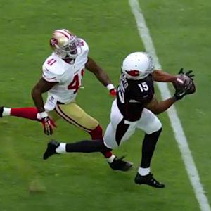 Arizona Cardinals wide receiver Michael Floyd 38-yard catch