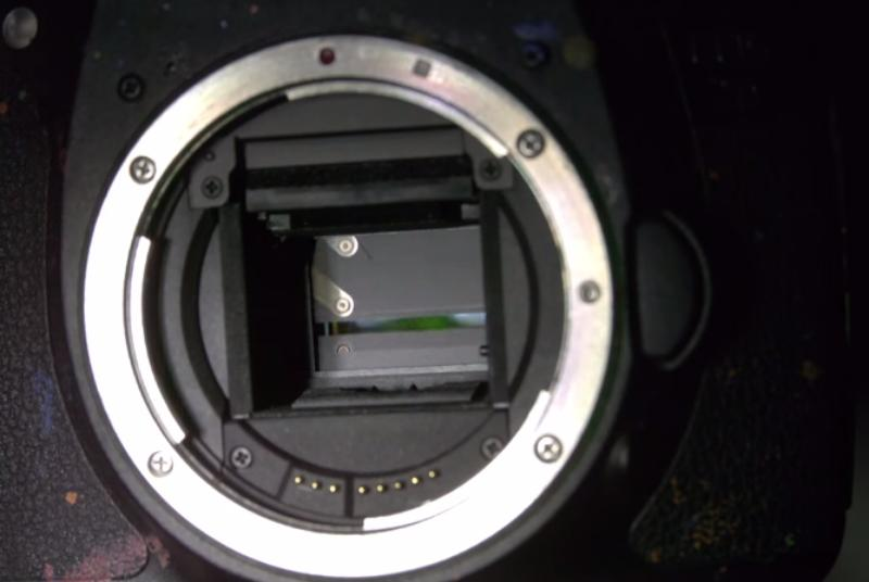 This is what's happening inside your camera at 10,000 frames per second