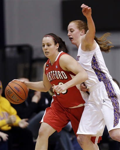 Albany (NY) women beat Hartford 61-52 in Am. East