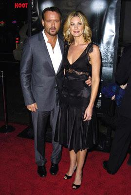 Tim McGraw and Faith Hill at the Hollywood premiere of Universal Pictures' Friday Night Lights