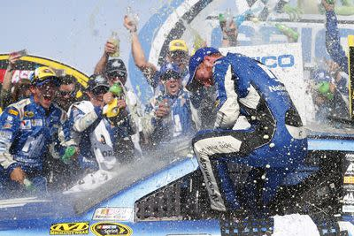 Talladega win carries extra meaning for Dale Earnhardt Jr.