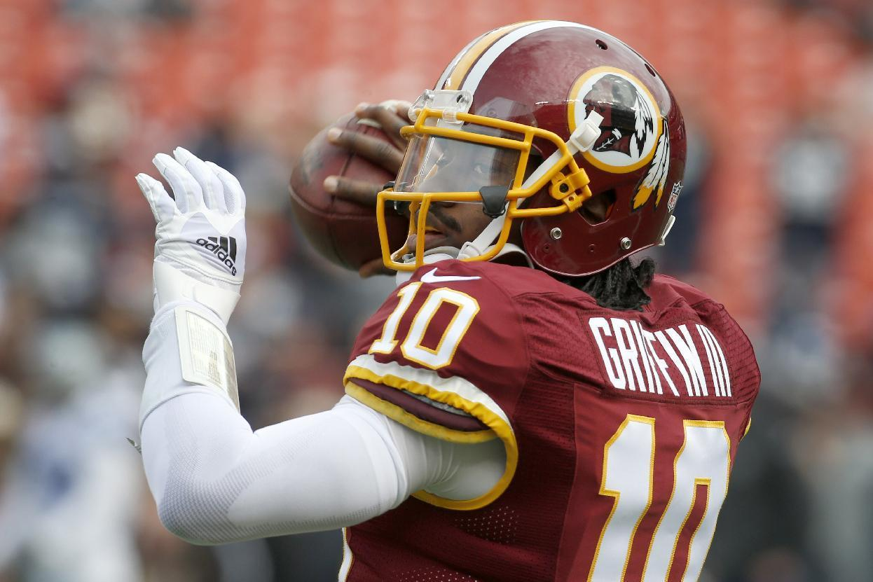 Redskins to pick up 5th-year option on Robert Griffin III