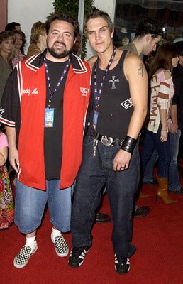 Premiere: Kevin Smith and Jason Mewes at the LA premiere of Universal's Dr. Seuss' The Cat in the Hat - 11/8/2003