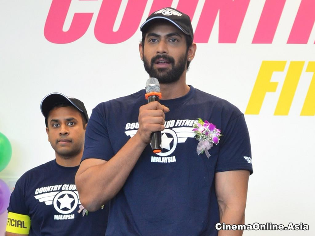 """""""Baahubali"""" actor launches fitness centre in Malaysia"""