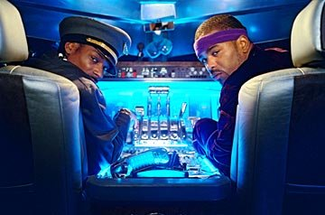 Snoop Dogg and Method Man in MGM's Soul Plane