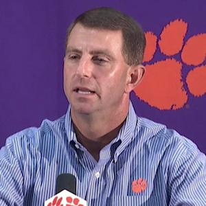 Dabo Swinney Rejects Underdog Role vs. FSU