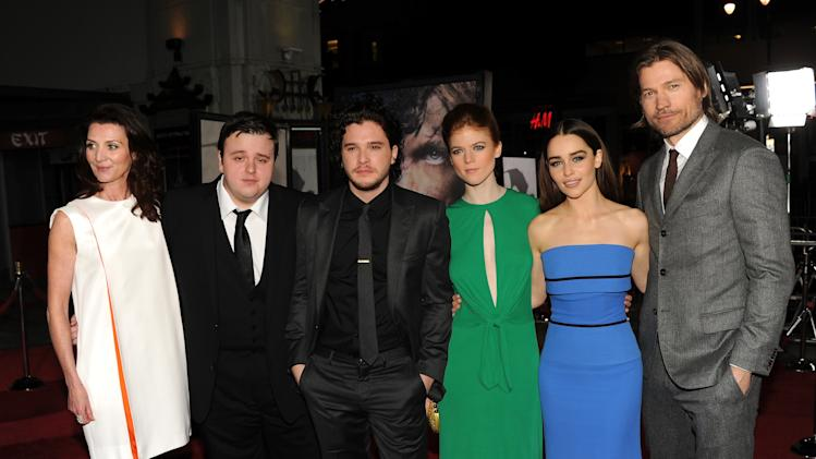 "Premiere Of HBO's ""Game Of Thrones"" Season 3 - Red Carpet"