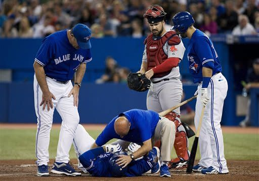Bautista homers as Blue Jays beat Red Sox 5-1