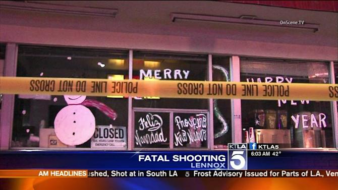 Gunman Opens Fire On Crowd Outside South Bay Restaurant, Killing 21-Year-Old Man
