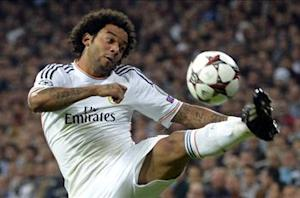 Marcelo subjected to monkey chants by Atletico fans