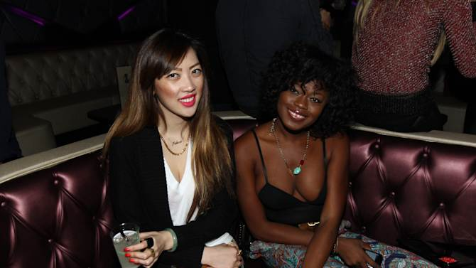 Guests at DETAILS @ Midnight LA with Azealia Banks on Wednesday, Nov. 14, 2012 in Los Angeles. (Photo by Matt Sayles/Invision for DETAILS Magazine/AP Images)