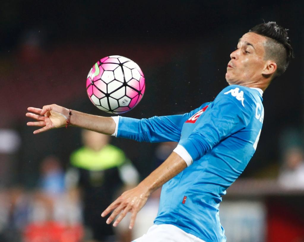 Star-studded attack can fire Napoli to title - Callejon