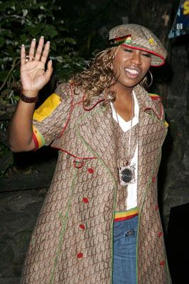 Premiere: Missy Elliott at the New York premiere of Dreamworks' Shark Tale - 9/27/2004