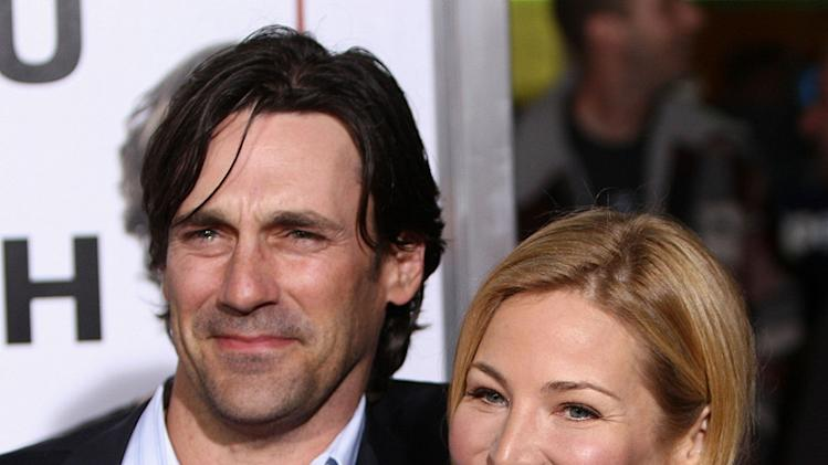 I Love You Man LA Premiere 2009 Jon Hamm Jennifer Westfeldt
