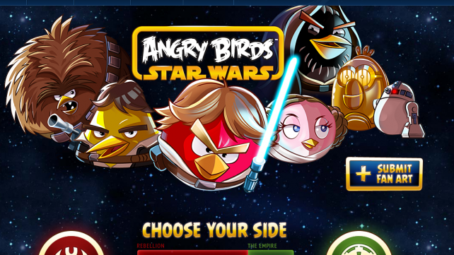 Angry Birds Star Wars and the evolution of the app market