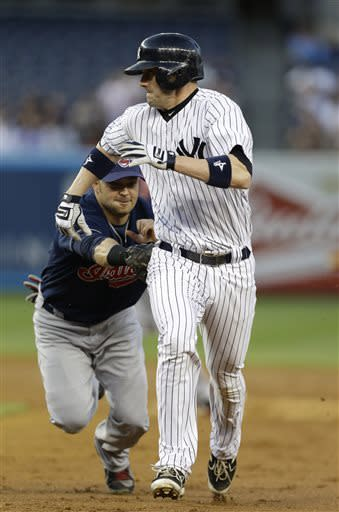 Phelps, Teixeira lead Yankees over Indians 4-3