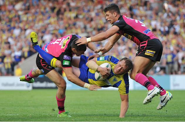 Rugby League - Super League - Warrington Wolves v Leeds Rhinos - Halliwell Jones Stadium