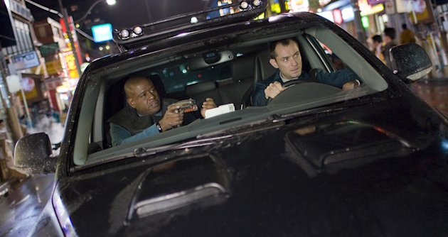 Repo Men Production Photos 2010 Universal Pictures Forest Whitaker Jude Law