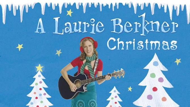 """This CD cover image released by Two Tomatoes Records shows a holiday release by Laurie Berkner, """"A Laurie Berkner Christmas."""" (AP Photo/Two Tomatoes Records)"""