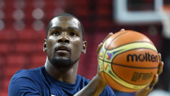 Basketball/NBA - MVP Durant has surgery on broken foot