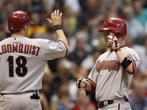 D-backs' Aaron Hill hits for 2nd cycle in win