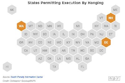 You think lethal injection is barbaric? These states still allow execution by hanging.