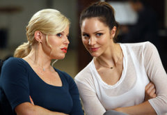 Megan Hilty, Katharine McPhee  | Photo Credits: Will Hart/NBC
